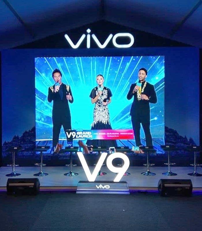 Product launching Vivo - sewaledscreen