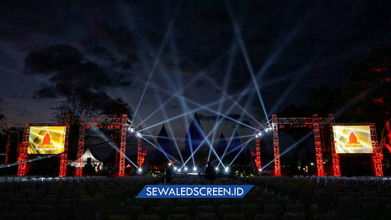 sewa led screen jogja